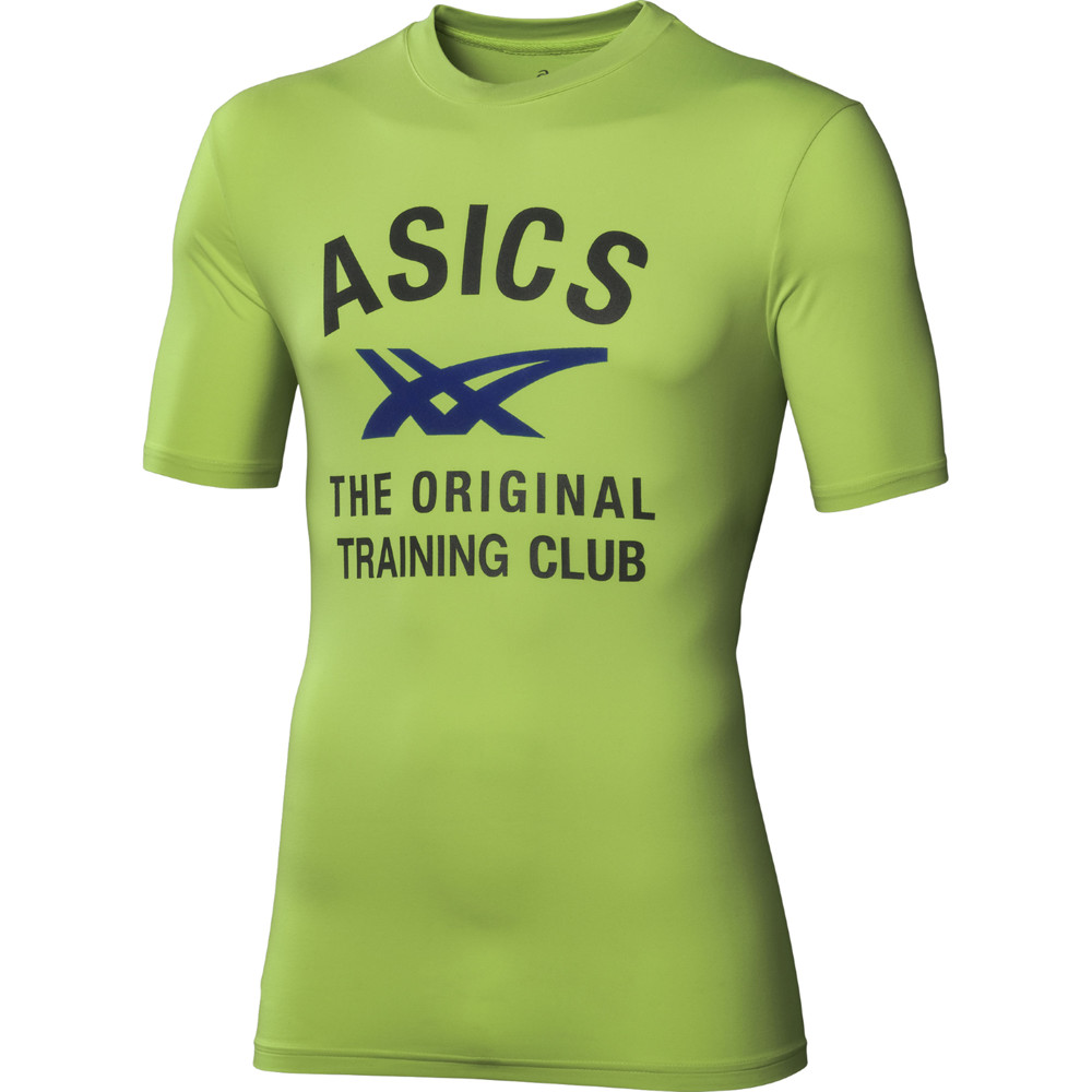 asics_performance_polo_zold